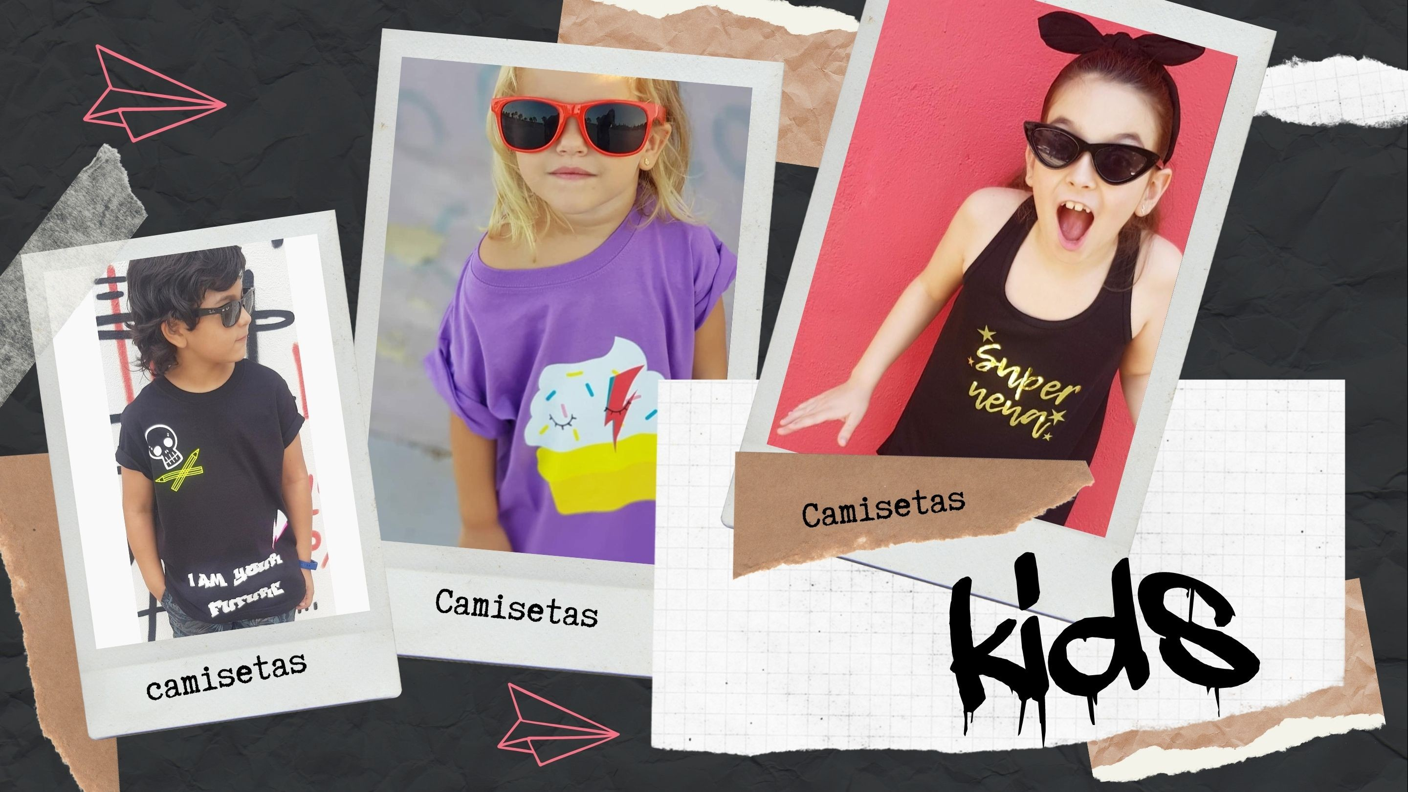 camisetas kids decompritas